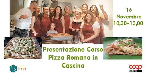 Presentazione corso Pizza Romana