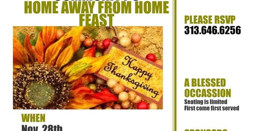 A Red Carpet Recovery Community's Home Away From Home Feast