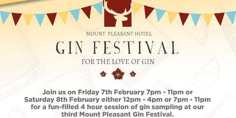 Mount Pleasant Gin Festival - Saturday Night tickets