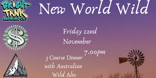 New World Wild Ale Dinner