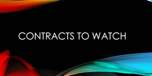 Contracts to Watch - November 20, 2019