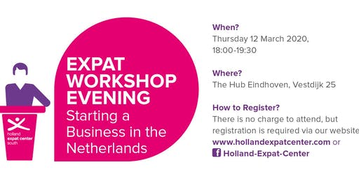 Expat Workshop Evening: Starting a Business in the Netherlands