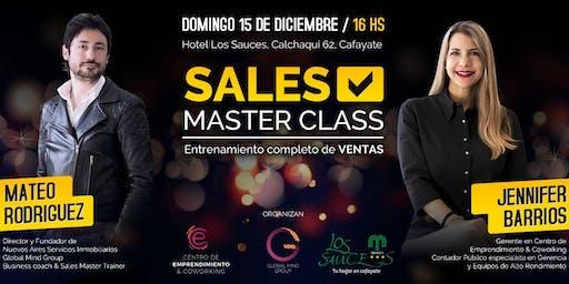Sales Masterclass: Entrenamiento en Ventas