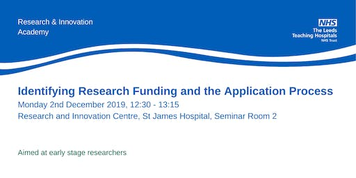 Identifying Research Funding and the Application Process