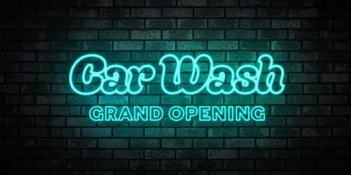 Car Wash - Grand Opening
