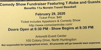 Comedy Night Fundraiser with T-Robe & Guests