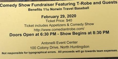 Comedy Night Fundraiser with T-Robe & Guests tickets