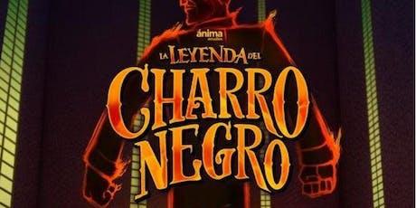 """Cine en Familia Leyendas Mexicanas: """"La Leyenda del Charro Negro""""  entradas"""