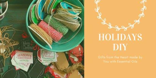 DIY Essential Holidays Giftshop at Tea & Poets