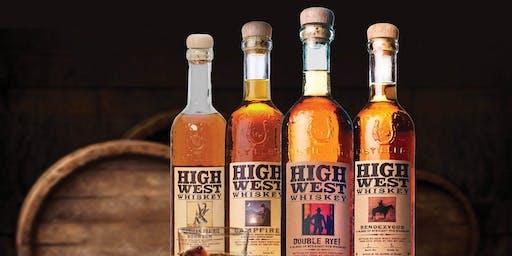 High West Whiskey Tasting
