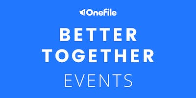Better Together - With OneFile and Customers, North Herts College | Morning Session