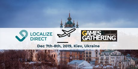 Game Localization Consulting at Game Gathering ( EN & RU) tickets