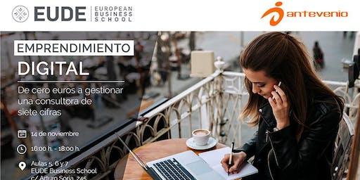 Emprendimiento digital: De cero euros a gestionar una consultora de siete cifras