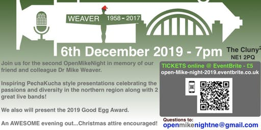 Open Mike Night 2019