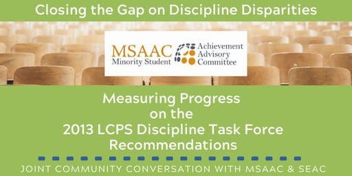 MSAAC General Body Meeting: Addressing Discipline Disparities