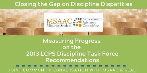 MSAAC General Body Meeting: Addressing Discipline Disparities