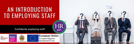 An Introduction to Employing Staff | Friday 22nd November 9.30AM