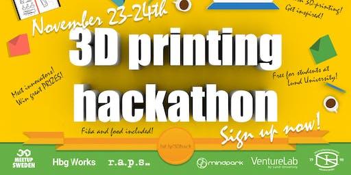 VentureLab 3D-printing Hackathon