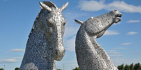 Cycle tour to Kelpies and Falkirk Wheel