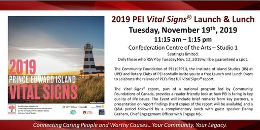 Community Foundation of PEI - Vital Signs Launch & Lunch