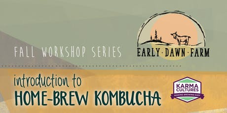 Introduction to Home-Brew Kombucha tickets