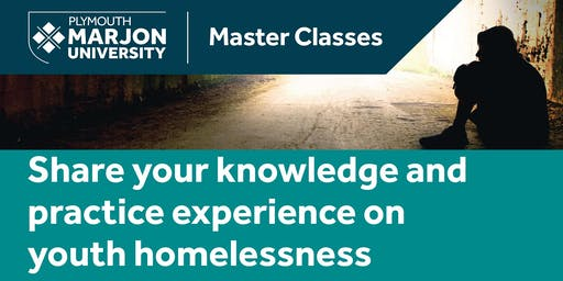 Youth Homelessness Master Class