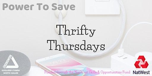Thrifty Thursday Workshop