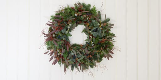 Christmas Wreath Workshop with St James St