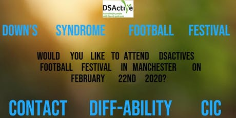 DSActive Football Festival, transport from Cumbria to Manchester. tickets
