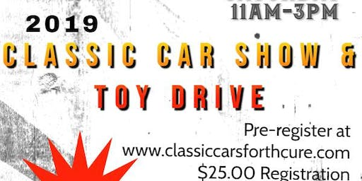 Classic Cars for the Cure Car Show-Toy Drive