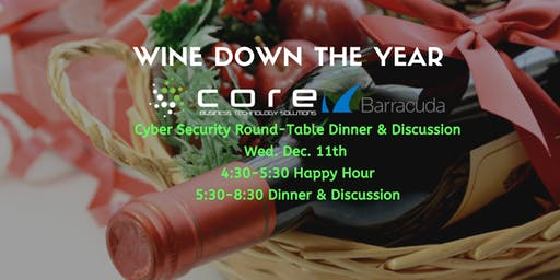 Wine Down The Year Dinner with Core BTS & Barracuda