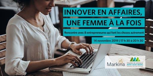 Innover en affaires, une femme à la fois !