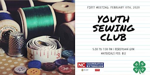 EBCI 4-H Sewing Club