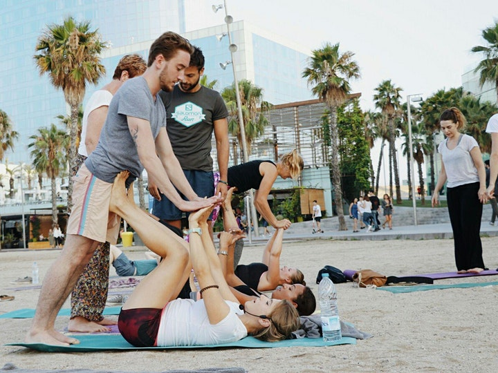 Beginners AcroYoga & Beach Fun Holiday in Estoril, Portugal (4 Days) image