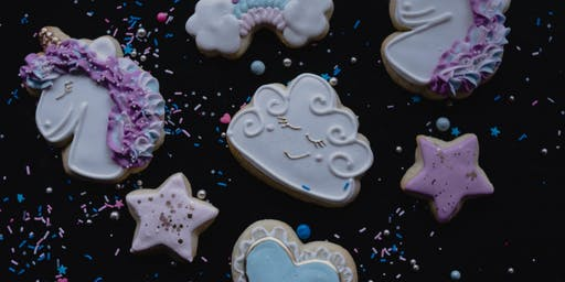 Unicorn Themed Cookie Decorating Class
