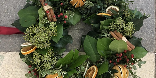 Christmas Wreath Making with Natalie Lauraine