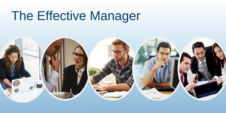 The Effective Manager - 2-Day Training Programme tickets