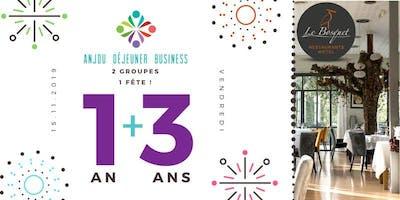 Spécial Anniversaire Anjou Déjeuner Business et PLUS !
