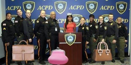 Atlantic City Police Foundation Designer Handbag Bingo tickets
