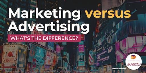 Marketing vs. Advertising Workshop