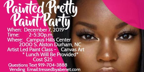 """""""Painted Pretty"""" Paint Party tickets"""