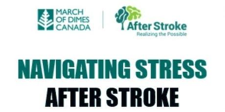 Navigating Stress After Stroke-Workshop tickets