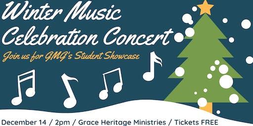 GMG Winter Music Celebration Student Showcase