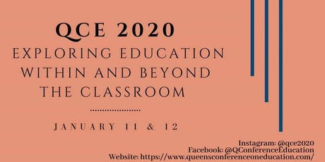 Queen's Conference on Education Delegate Registration 2020 tickets