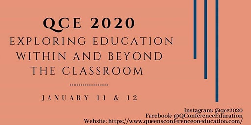 Queen's Conference on Education Delegate Registration 2020