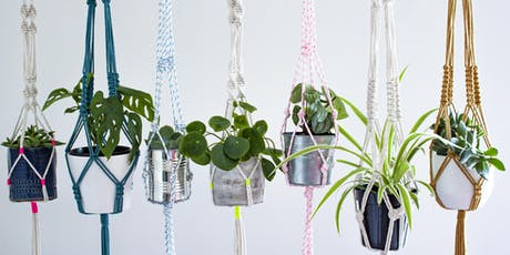 Mindful Macramé Plant Hanger Workshop: North London tickets