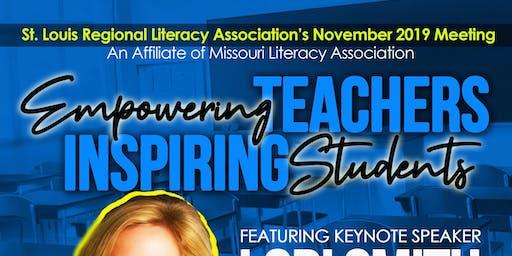 St. Louis Regional Literacy Association November 2019 Meeting