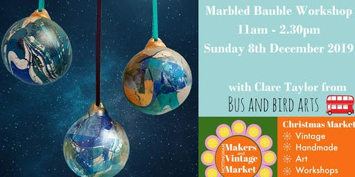 Marbled Bauble Workshop