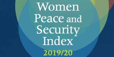 DC Launch of the Second Edition of the Women, Peace and Security Index