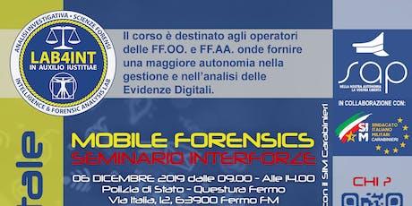 Fermo - Mobile Forensics biglietti